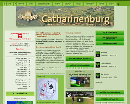 Golfbaan Catharinenburg